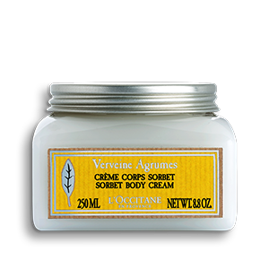 Verbena sorbet cream