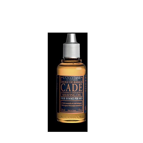 Cade Shaving Oil organic certified