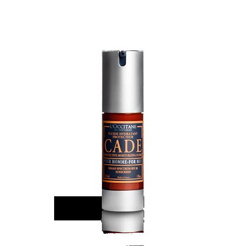 """Drėkinamasis ir apsaugomasis veido fluidas SPF20 """"Cade"""""""