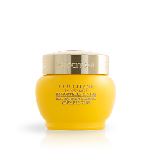 Immortelle Divine Cream light texture SPF 20