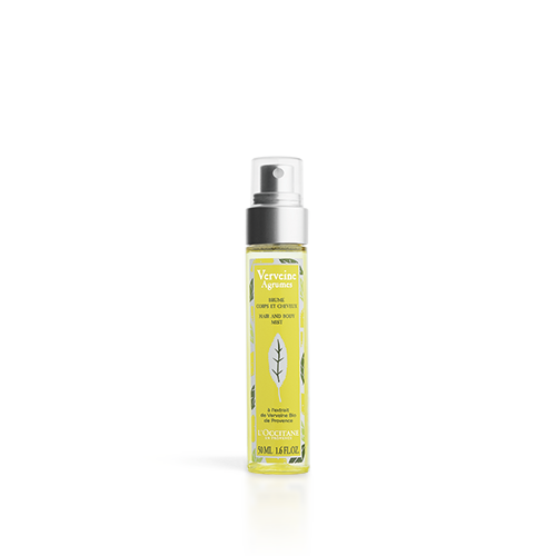 Citrusinių verbenų kūno ir plaukų purškiklis