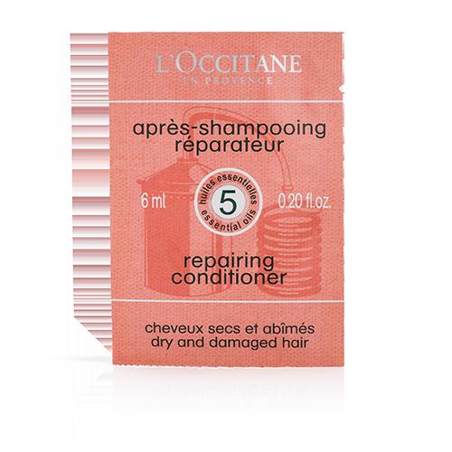 Mėginėlis - Stiprinamasis kondicionierius pažeistiems plaukams