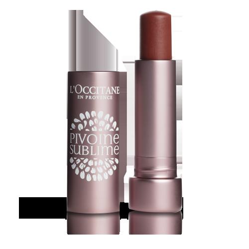 Pivoine Sublime Tinted Lip Balm Rose Amber SPF25