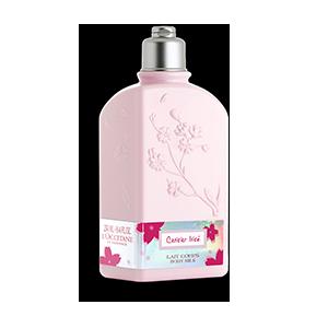 """Молочко для тела увлажняющее Вишнёвый цвет """"Cerisier Irise"""" I LOccitane"""