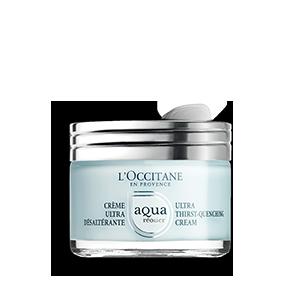 Aqua Réotier Dziļi mitrinošs sejas krēms ar hialuronskābi I LOccitane