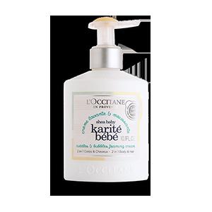 Dušas krēms šampūns bērniem, Shea baby I LOccitane