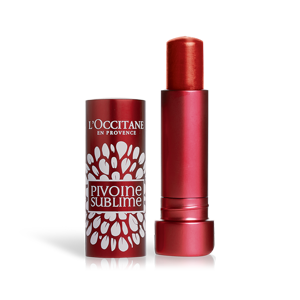 Peonijas lūpu balzāms ar toni (Rose Red) SPF25