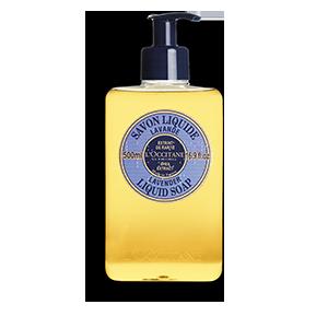Shea Butter Liquid Soap - Lavender I LOccitane