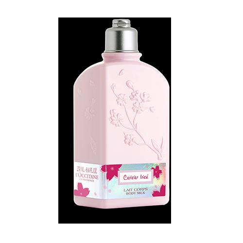 """Молочко для тела увлажняющее Вишнёвый цвет """"Cerisier Irise"""""""