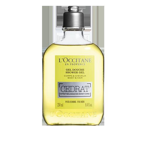 Dušas želeja un šampūns Cedrat