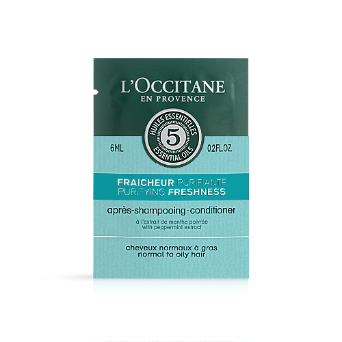 Sample - Purifying freshness conditioner, 6ml