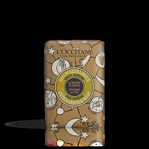 Shea Butter Extra Gentle Soap - Verbena, Castelbajac