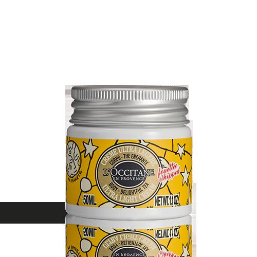 Shea-delightful tea Ultra Light Body Cream, Castelbajac