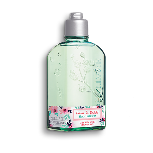 CERISIER EAU FRAICHE SHOWER GEL 250ML