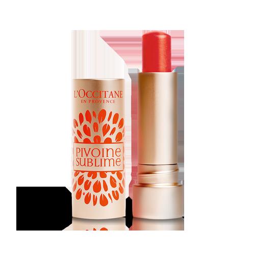 Peony Tinted Lip Balm Rose Apricot