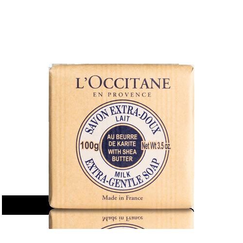 Shea Butter Extra Gentle Soap - Milk 100 g