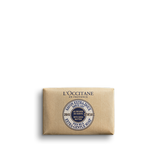 Shea Butter Extra Gentle Soap - Milk 250 g