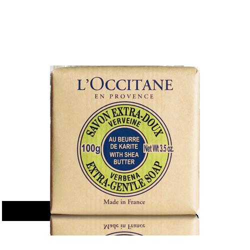 Shea Butter Extra Gentle Soap - Verbena 100 g
