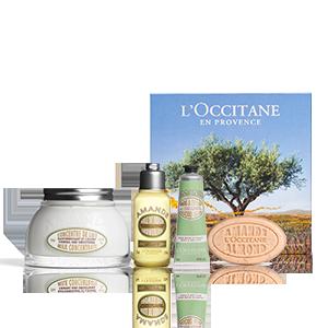 Almond Body Care Giftset | Hydratatie | Zachte amandel