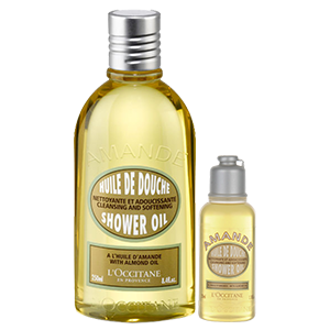 Almond Shower Oil Duo