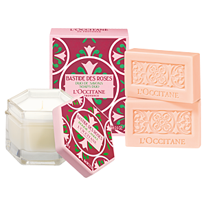 Bastide des Roses Candle & Soap Duo