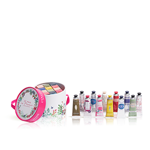 Carrousel met 12 Handcrèmes | Hydraterend & Voedend