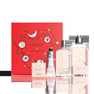 Cherry Blossom Kerst Giftset met Parfum | L'OCCITANE