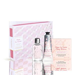 Cherry Blossom Ontdekkingsgiftset | Parfum Vrouwen | Lichaamsverzorging