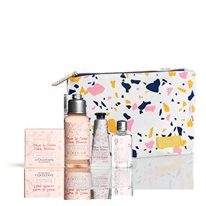 Cherry Blossom Zomertasje | Hydraterende en geparfumeerde lichaamsverzorging