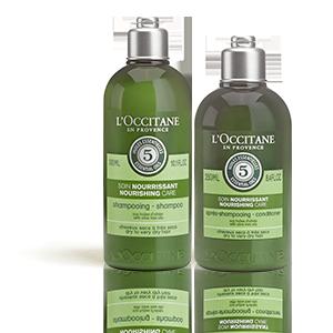 Duo  Nourrishing care  Shampoo en zijn Aromachology Conditioner  | Droog tot heel droog haar