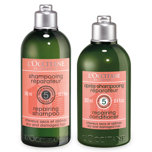 Duo Repairing Shampoo en zijn Aromachology Conditioner