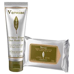 Duo Wipes & Verbena Hand Cream