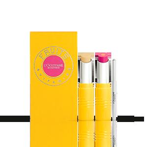 Giftset Lipstick Duo | Flamingo Kiss | L'OCCITANE