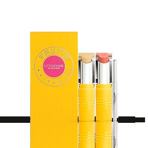 Giftset Lipstick Duo | Pink Biscotin | L'OCCITANE