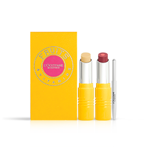 Giftset Lipstick Duo | Plum Plum Girl | L'OCCITANE