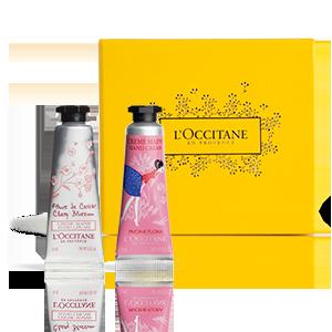 Een duo van handcrèmes dat ideaal is voor in uw handtas! Beschikbaar op loccitane.be