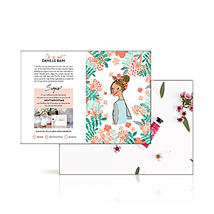 Leaflet Mini Flower Book