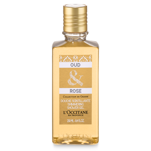 Oud & Rose Shimmering Shower Gel 250ml