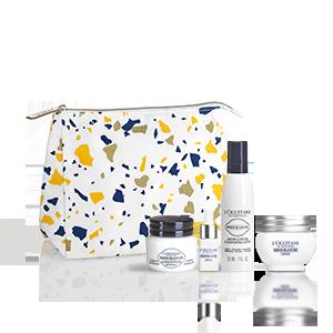 Reine Blanche Facecare giftset | L'OCCITANE