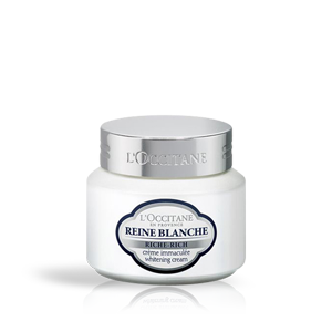 Reine Blanche Rich Whitening Cream  | L'OCCITANE