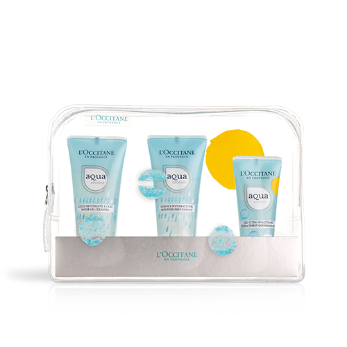 Aqua Réotier -Hydrating Gel travel set