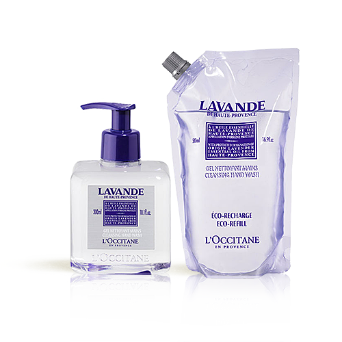 Duo Lavender Cleansing Hand Wash en de Eco-Refill