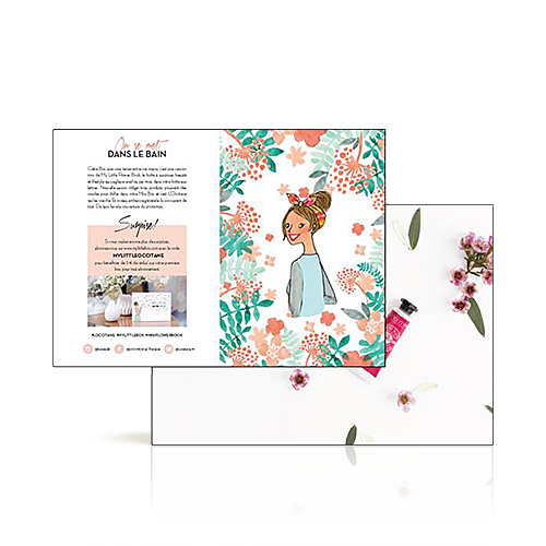 Folder Minibloemenboek