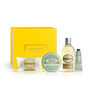 Almond delightful body balm giftset - shower oil | L'OCCITANE