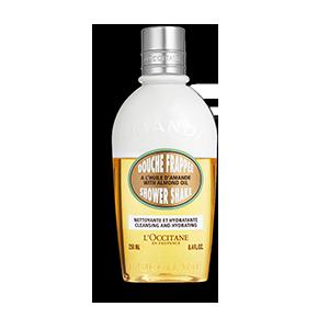 hydraterende en verzorgende bi-fase Shower Gel | L'OCCITANE