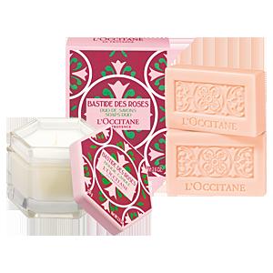 Bastide des Roses Candle & Soap Duo