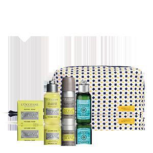 Cedrat Tasje voor Mannen | Scheer- en lichaamsverzorging