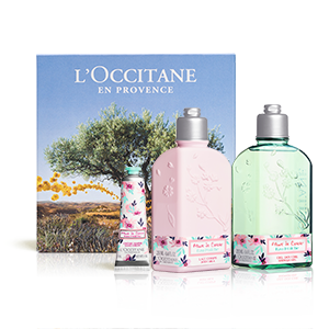Cherry Blossom Eau Fraîche Bath Giftset - L'OCCITANE