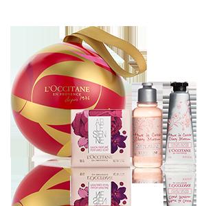 Cherry Blossom Kerstbal