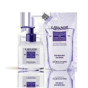 Duo Lavender Cleansing Hand Wash en de Eco-Refill